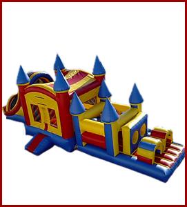 5 in 1 bouncy castle combo
