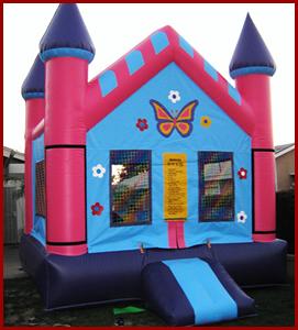 Butterfly Pink Castle