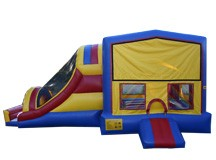 4-1 Jumbo Slide Castle Slide- (1-1.5 Blowers) #TB62