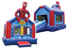 2-1 Spiderman Slide (1-1.0 Blower) 13 X 20 #S13