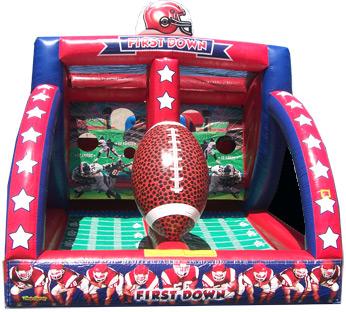 Football Toss inflatable  #423