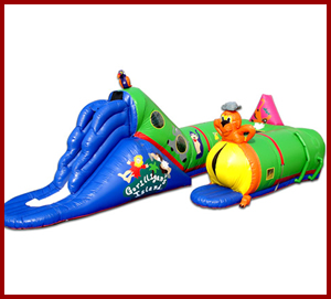 Toddler bounce houses for rent in Orange County and San Diego