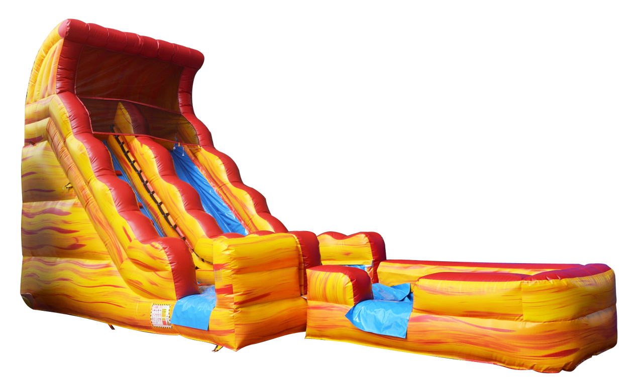 20 FT Volcano slide spool (WET OR DRY) $50 EXTRA FOR WET #TB152