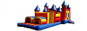 Combo 3: 35 Ft Castle Obstacle Course 20 Ft Obstacle & Large Castle (Dry Only)