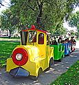 Trackless Train Yellow