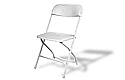 Chairs- Folding (Steel with Plastic Seat)